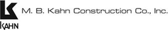 M.B. Kahn Construction logo